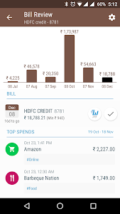 screenshot of Find ATM, Walnut Money Manager version 4.2.0
