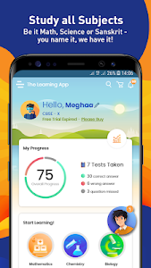 screenshot of Extramarks – The Learning App version 5.0.1.1