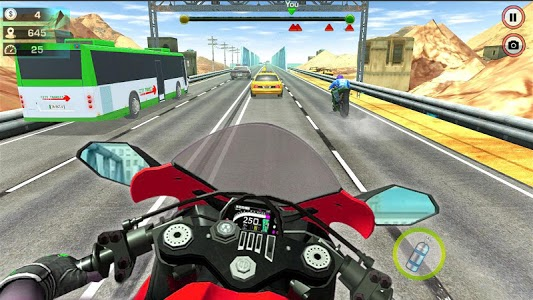 screenshot of Extreme Bike Race 2019 version 1.5