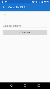 screenshot of FGTS e CPF - Consultar Saldo version 2.4.8.4
