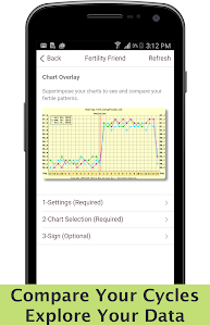 screenshot of Fertility Friend Ovulation App version 10.29