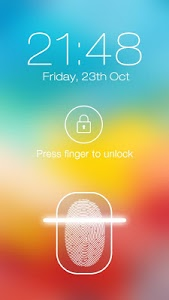 screenshot of Fingerprint LockScreen Prank version 3.4.4