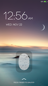 screenshot of Fingerprint LockScreen Simulated Prank version 6.2