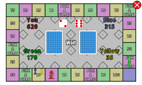 screenshot of First to 1000 - The board game version 1.02
