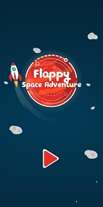 screenshot of Flappy Space Adventure version 1.0