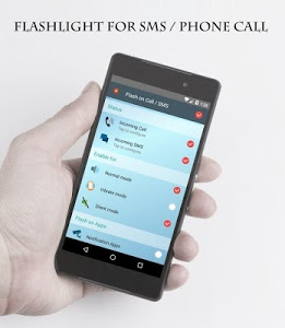 screenshot of Flash On Call version 3.1