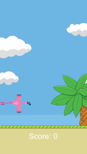 screenshot of Fly Flamingo Fly version 1.01