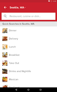 screenshot of Zomato - Restaurant Finder version 8.1.3