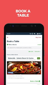 screenshot of Zomato - Restaurant Finder and Food Delivery App version Varies with device
