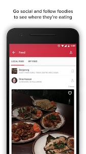 screenshot of Zomato - Restaurant Finder version Varies with device