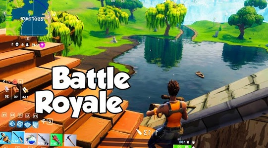 screenshot of Fortnight Battle Royale : Unknown Battle version 4.0