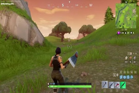 screenshot of Fortnite Battle Royale Trick version 1.0