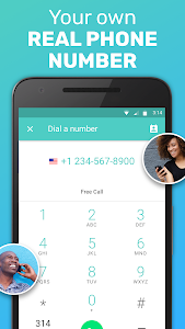 screenshot of FreeTone Free Calls & Texting version Varies with device