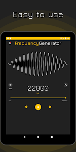 screenshot of Frequency Sound Generator version 2.1.3