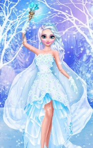 screenshot of Ice Queen Salon - Frosty Party version 1.5