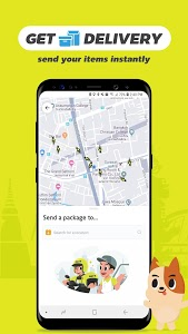 screenshot of GET - On Demand Ride, Courier & Food Delivery version 1.8.5