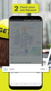 screenshot of GET - Lifestyle Services | Ride & Delivery version 1.0.0
