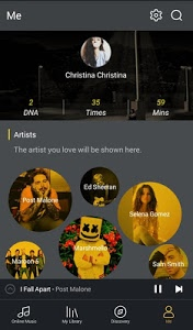 screenshot of GO Music Player Plus -Free Music,Themes,MP3 Player version 1.8.4