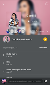 screenshot of GO Music Player Plus - Free Music, Radio, MP3 version 2.4.1