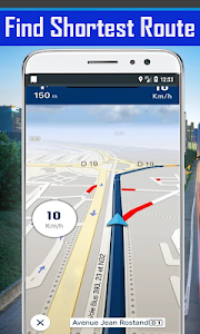 screenshot of GPS Maps, Route Finder - Navigation, Directions version 1.14