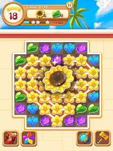 screenshot of Garden Blossom Crush version 1.6