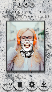 screenshot of Ghost Mask Photo Editor version 1.1