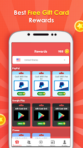 screenshot of Gift Wallet - Free Reward Card version 1.7.30