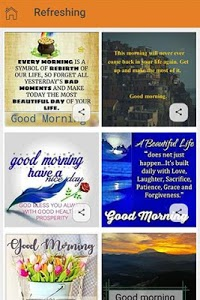 screenshot of Good Morning Wishes: Inspirational Motivational version 1.1