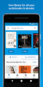 screenshot of Google Play Books - Ebooks, Audiobooks, and Comics version Varies with device