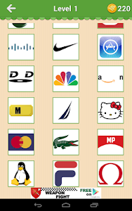 screenshot of Guess The Brand - Logo Mania version 5.3.05 (66)