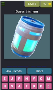 screenshot of Guesses the object of FORTNITE version 4.1.0z