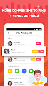 screenshot of HAGO - Play With New Friends version 3.2.8