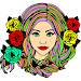 Hairs Color by Number: Girls Fashion Coloring Book