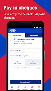 screenshot of Halifax: the banking app that gives you extra version 43.02