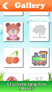 screenshot of Hama Beads Universe - Color by Number version 2.0