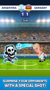 screenshot of Head Soccer - World Football version 3.0.0