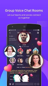 screenshot of Hello Yo – Free Voice Chat Rooms version 1.14.3