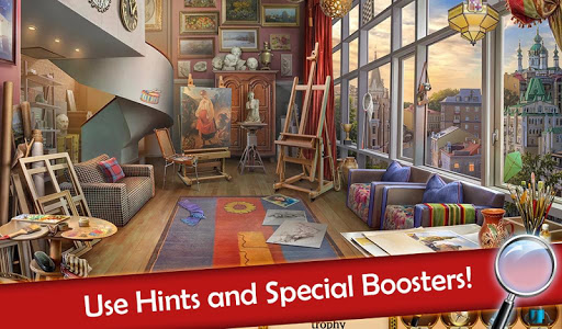 screenshot of Hidden Objects: Mystery Society Crime Solving version 5.07
