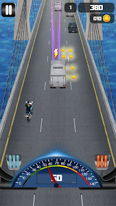 screenshot of Highway Bike Race 3D version 1.0