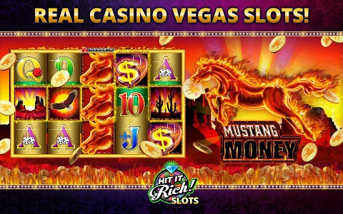 screenshot of Hit it Rich! Free Casino Slots version 1.8.6740