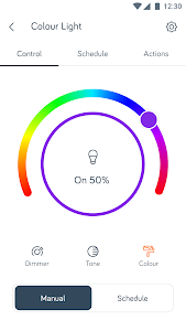 screenshot of Hive - Smart Home version Varies with device