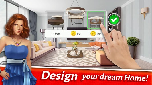 screenshot of Home Designer - Match + Blast to Design a Makeover version 1.3.2