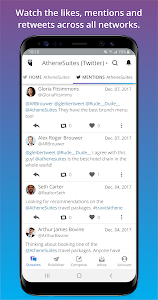 screenshot of Hootsuite: Schedule Posts for Twitter & Instagram version Varies with device