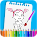Download How To Color Vampirina Coloring Book For Adult 5.0.0 APK