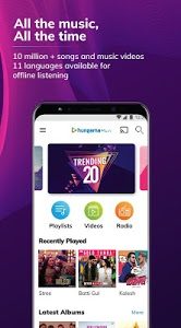 screenshot of Hungama Music - Stream & Download MP3 Songs version 5.1.9