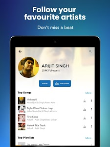 screenshot of Hungama Music - Stream & Download MP3 Songs version 5.2.14