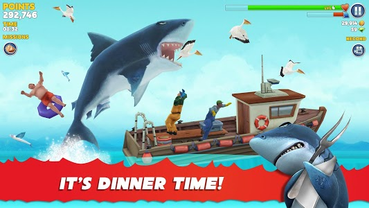 screenshot of Hungry Shark Evolution version 7.0.0