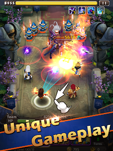 screenshot of Hyper Heroes: Marble-Like RPG version 1.0.6.90474