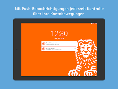 screenshot of ING Banking to go version 3.3.5