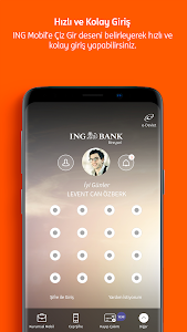 screenshot of ING Mobil version 2.4.1